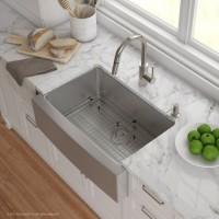 Кухонный комплект от Kraus KHF20030-KPF2620-SD20
