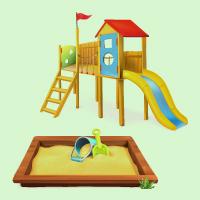 Детские игровые домики, горки, песочницы (0)