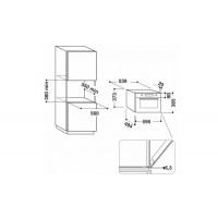 Встраиваемая микроволновая печь WHIRLPOOL AMW730IX